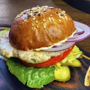 Mini-бургер с судаком